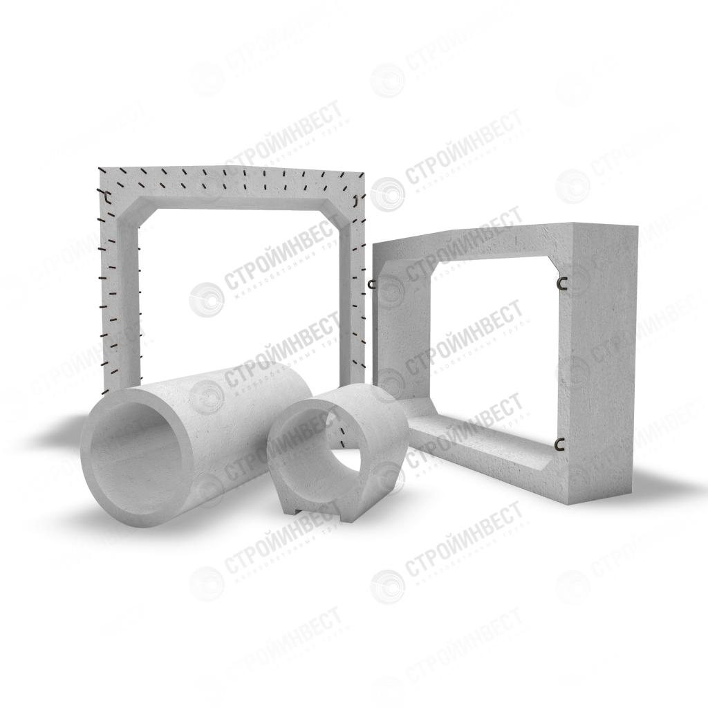 Звено прямоугольное железобетонная метр квадратный жби